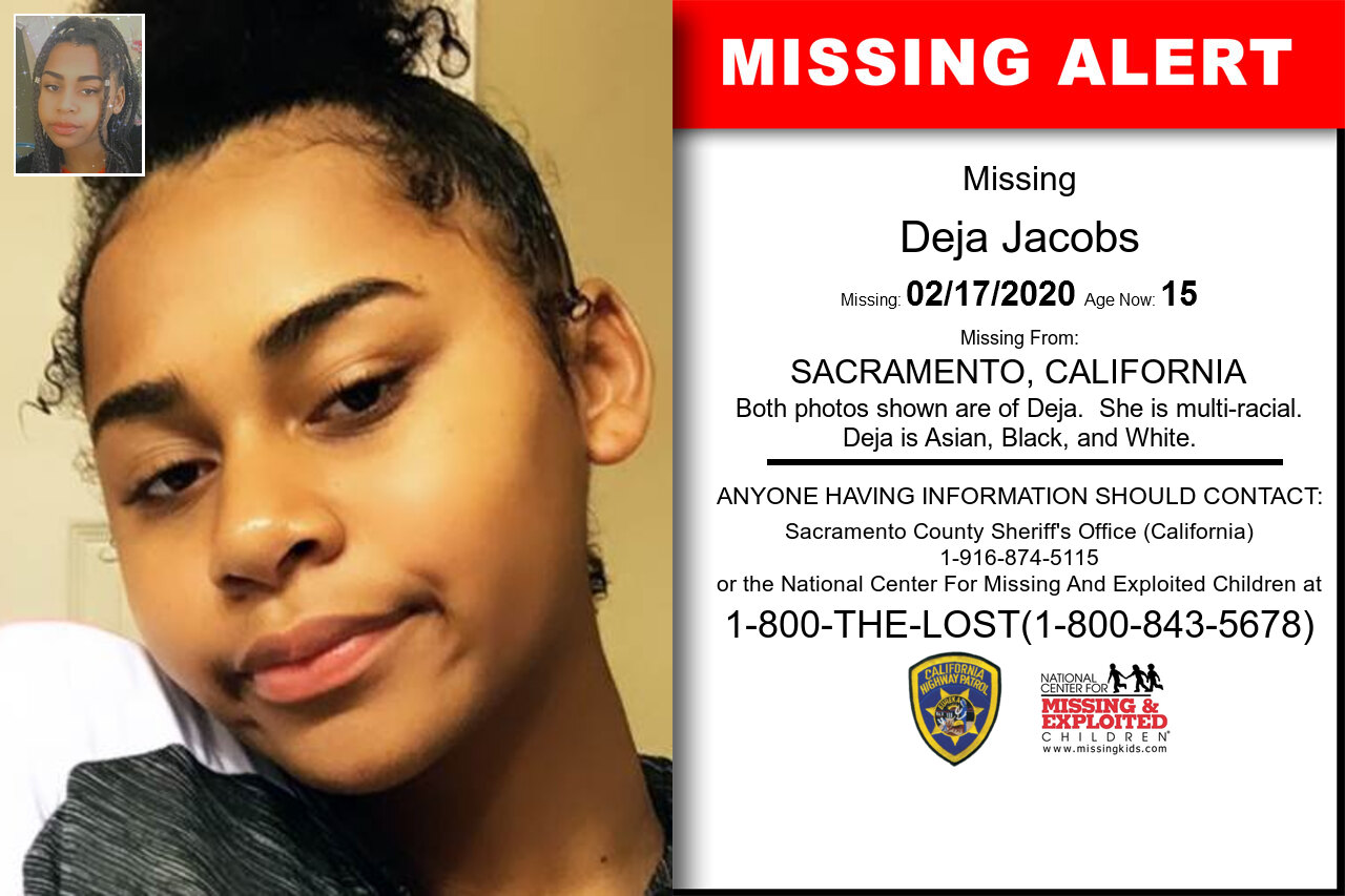 Deja_Jacobs missing in California