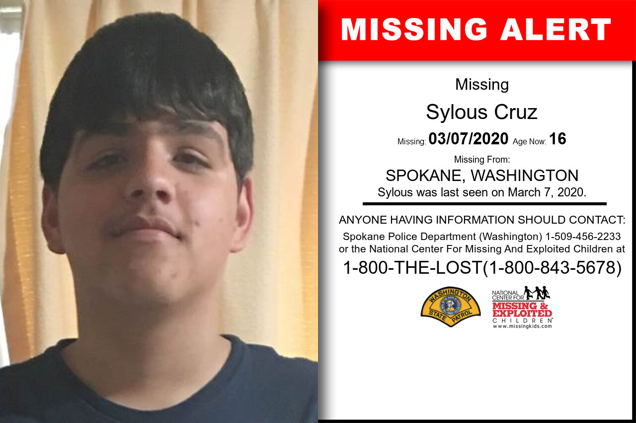 Sylous_Cruz missing in Washington