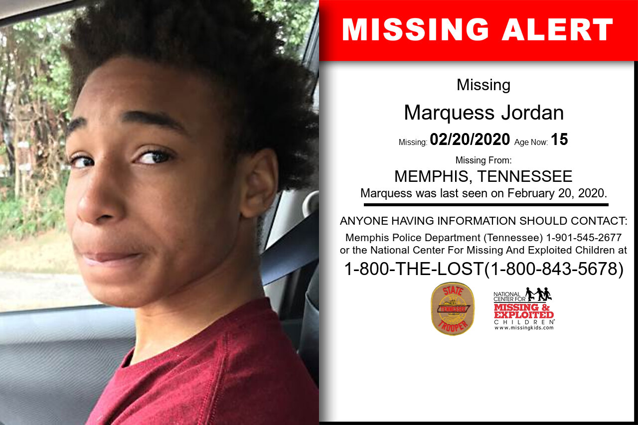 Marquess_Jordan missing in Tennessee