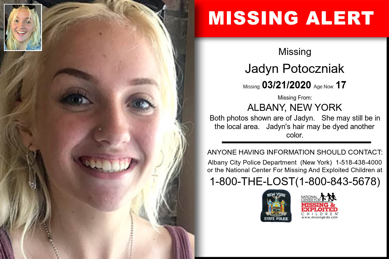 Jadyn_Potoczniak missing in New_York