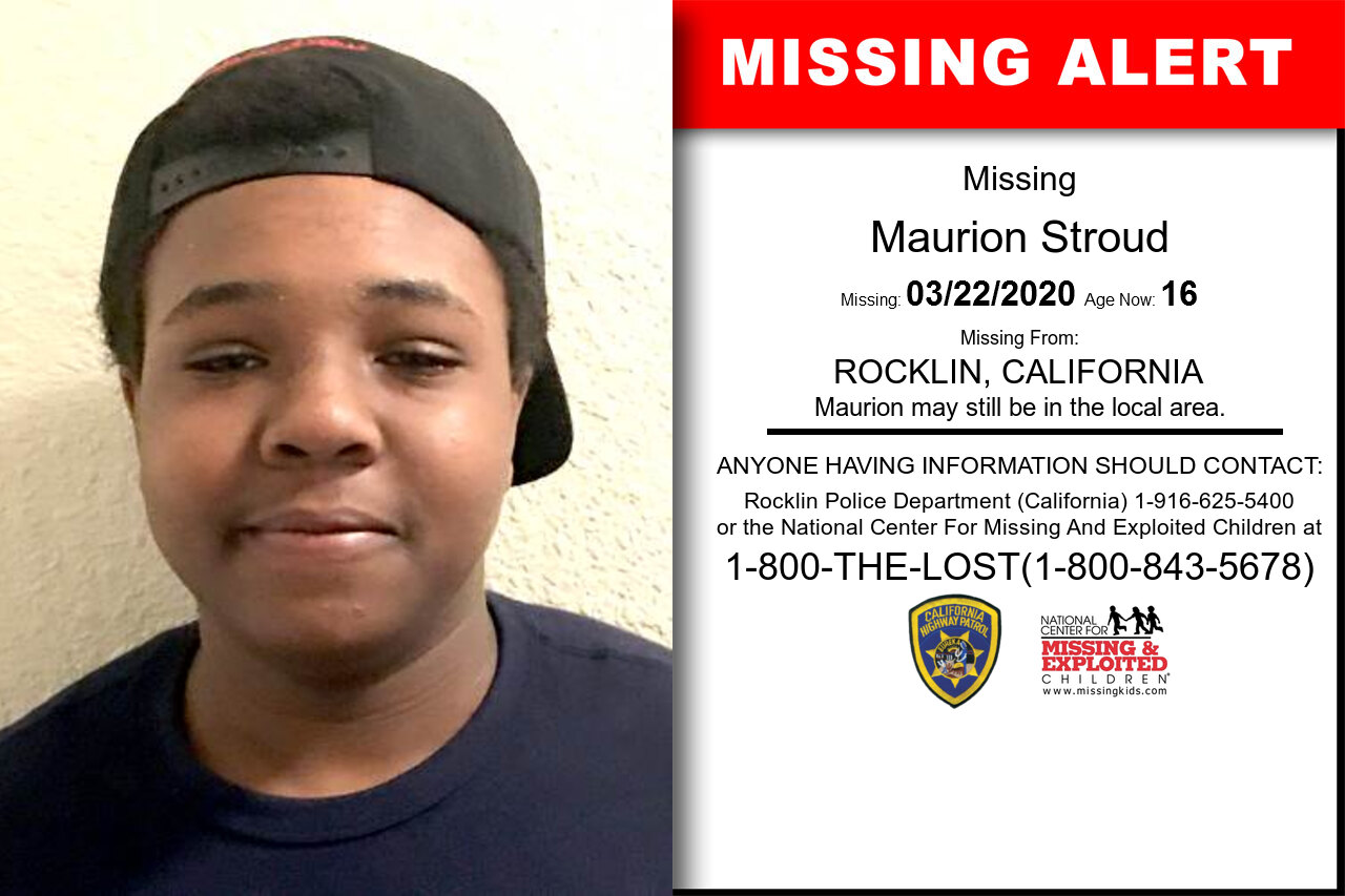 Maurion_Stroud missing in California