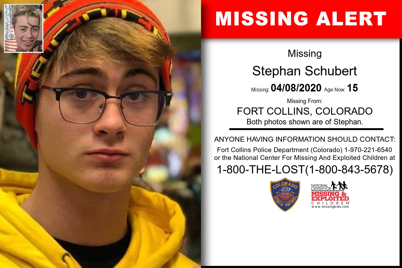 Stephan_Schubert missing in Colorado