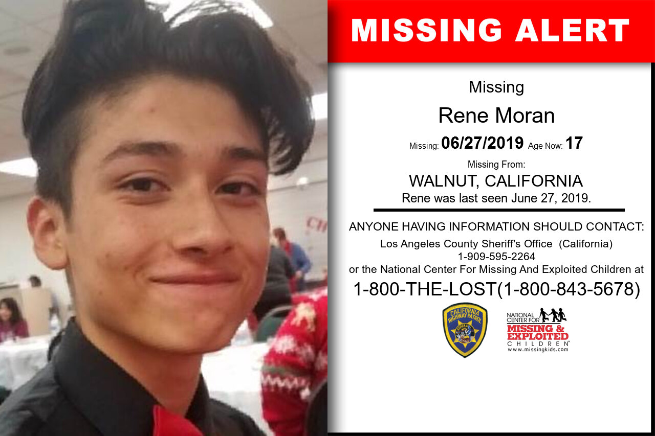 Rene_Moran missing in California