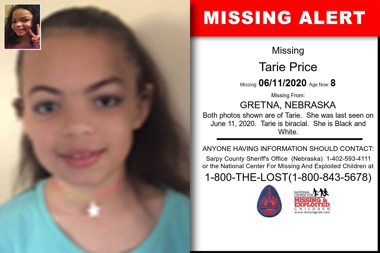 Tarie_Price missing in Nebraska