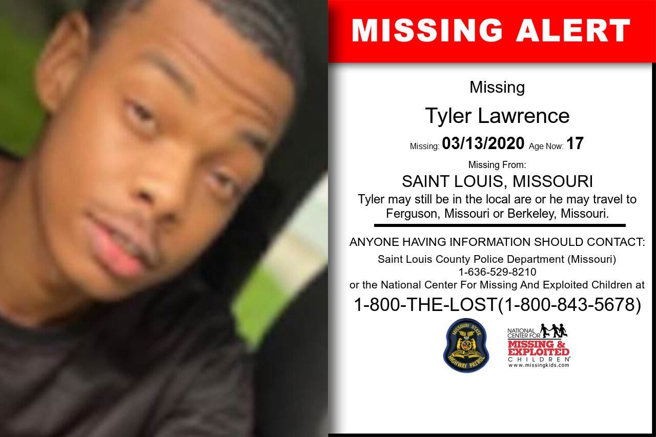 Tyler_Lawrence missing in Missouri