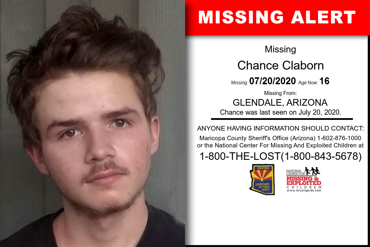Chance_Claborn missing in Arizona