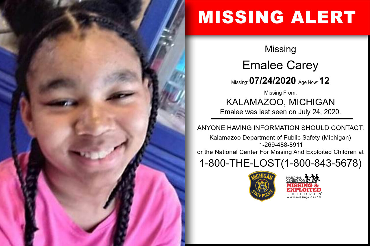 Emalee_Carey missing in Michigan