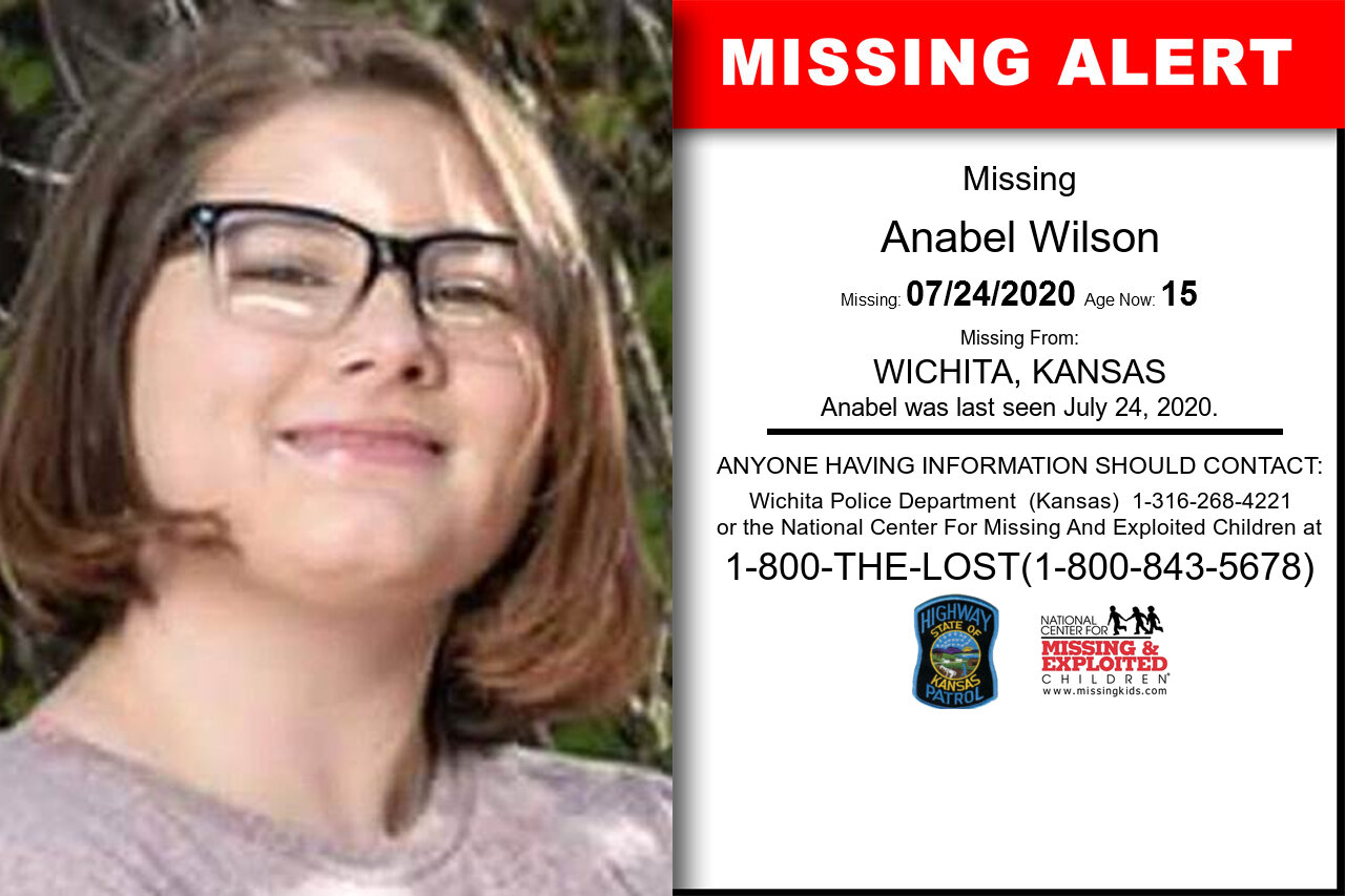 Anabel_Wilson missing in Kansas