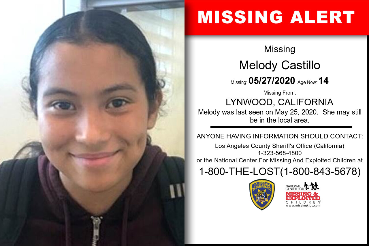 Melody_Castillo missing in California
