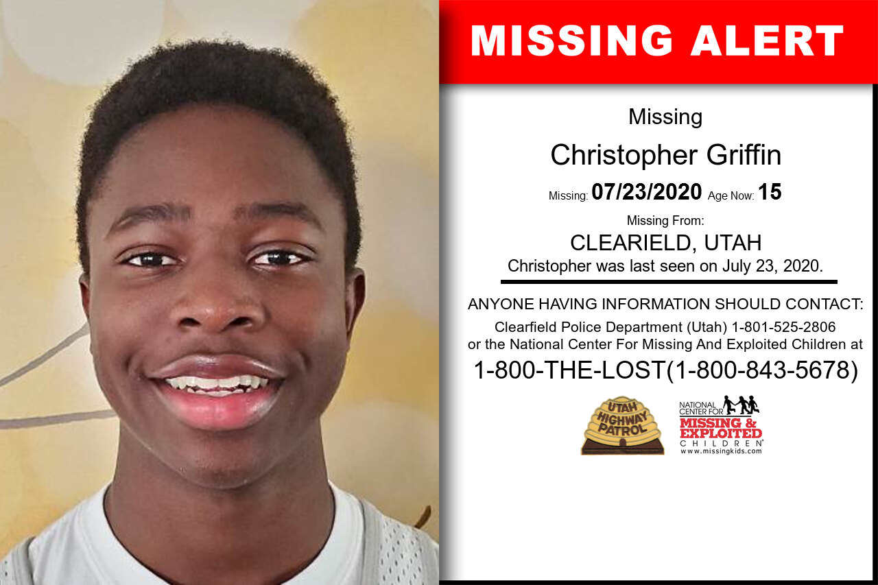 Christopher_Griffin missing in Utah