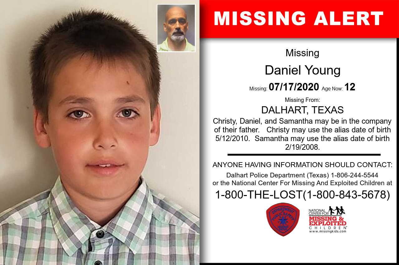 Daniel_Young missing in Texas