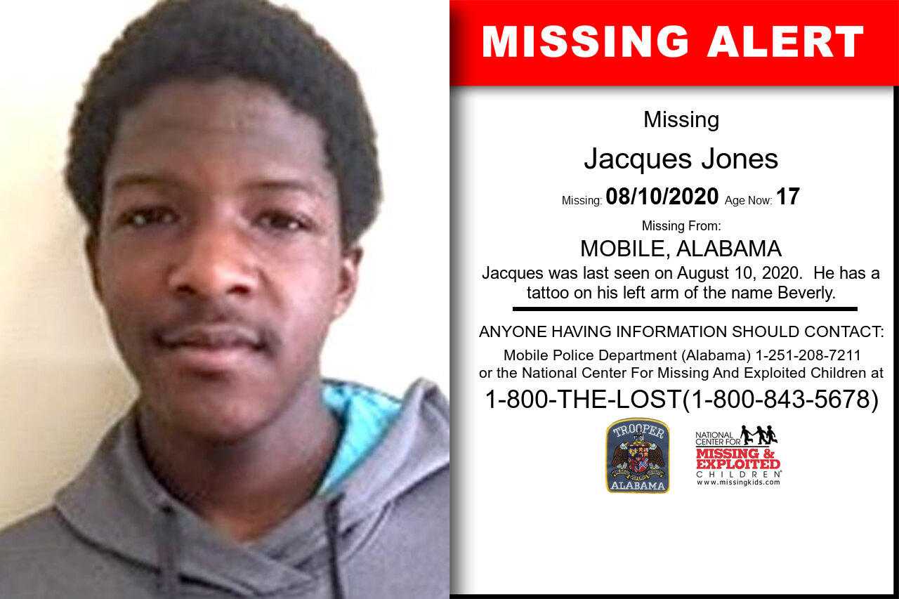 Jacques_Jones missing in Alabama