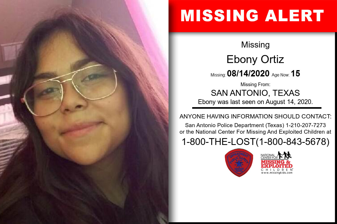 Ebony_Ortiz missing in Texas