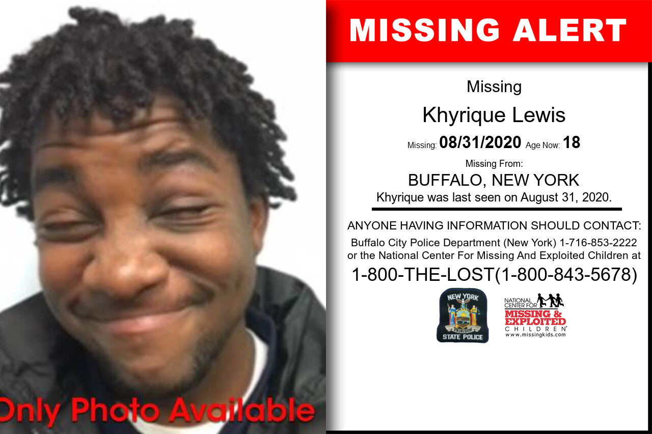 Khyrique_Lewis missing in New_York