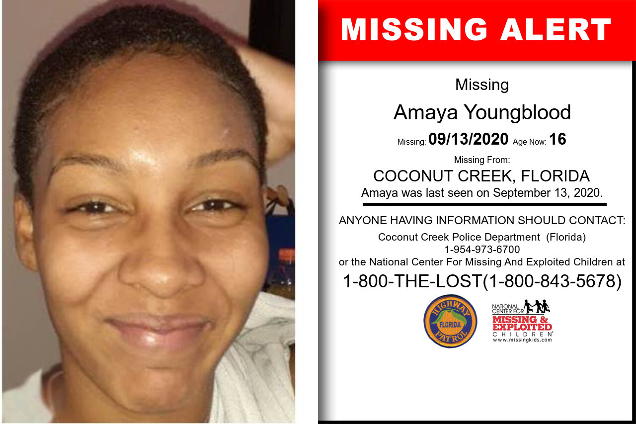 Amaya_Youngblood missing in Florida