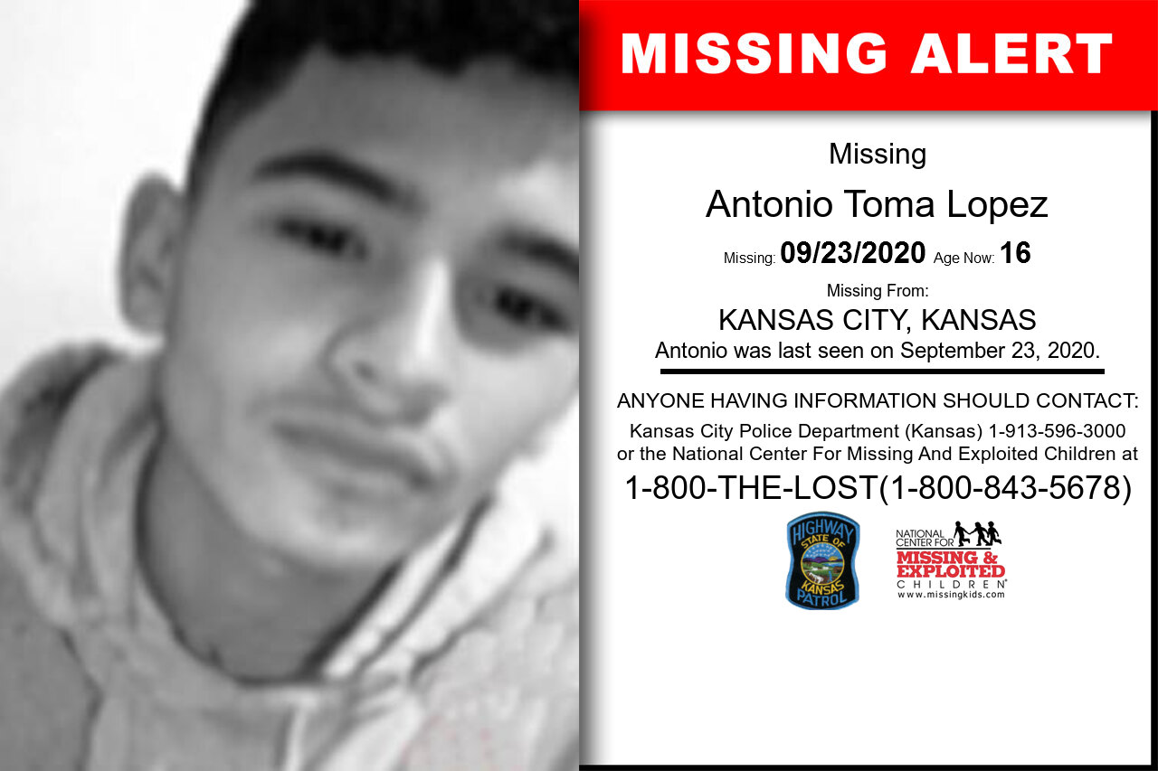 Antonio_Toma_Lopez missing in Kansas