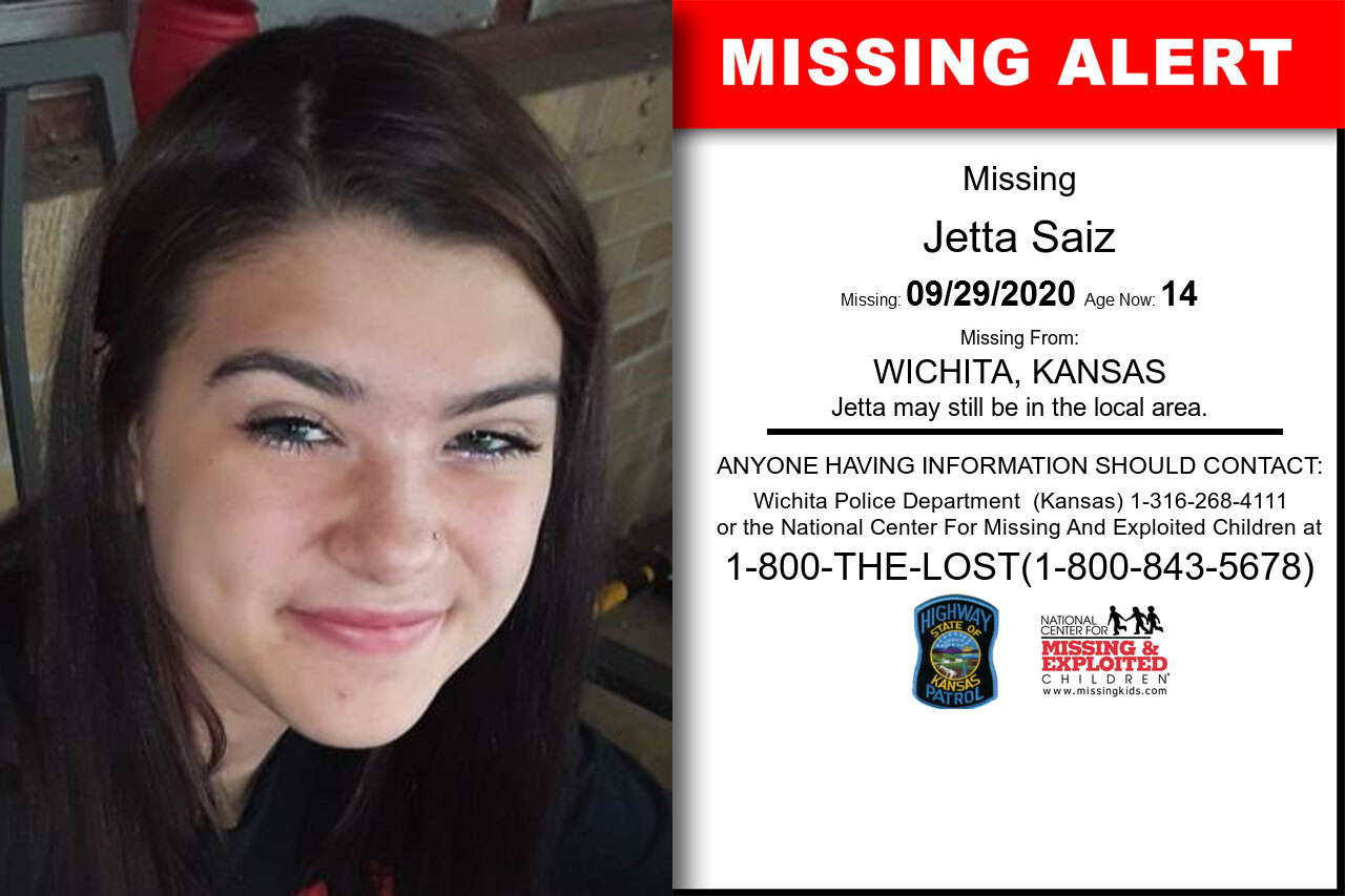 Jetta_Saiz missing in Kansas
