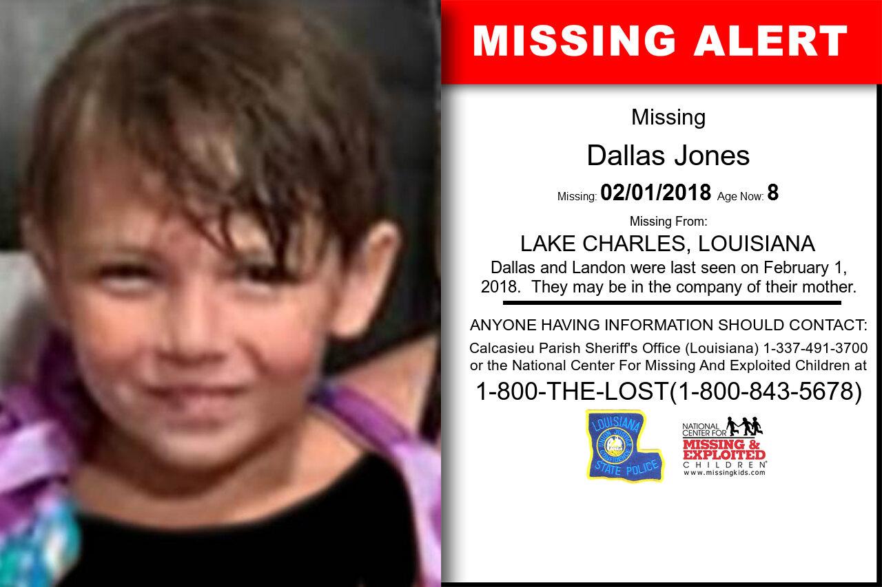 Dallas_Jones missing in Louisiana