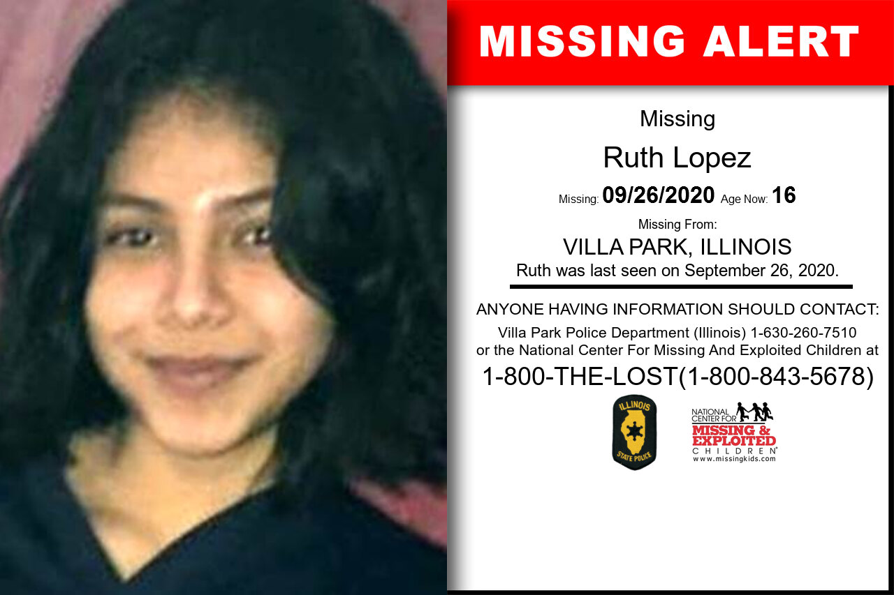Ruth_Lopez missing in Illinois