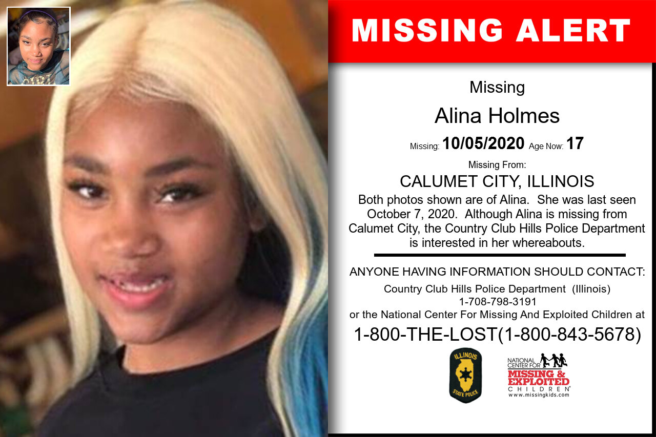 Alina_Holmes missing in Illinois