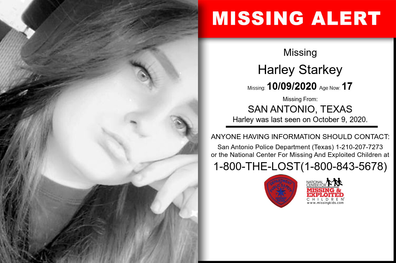 Harley_Starkey missing in Texas