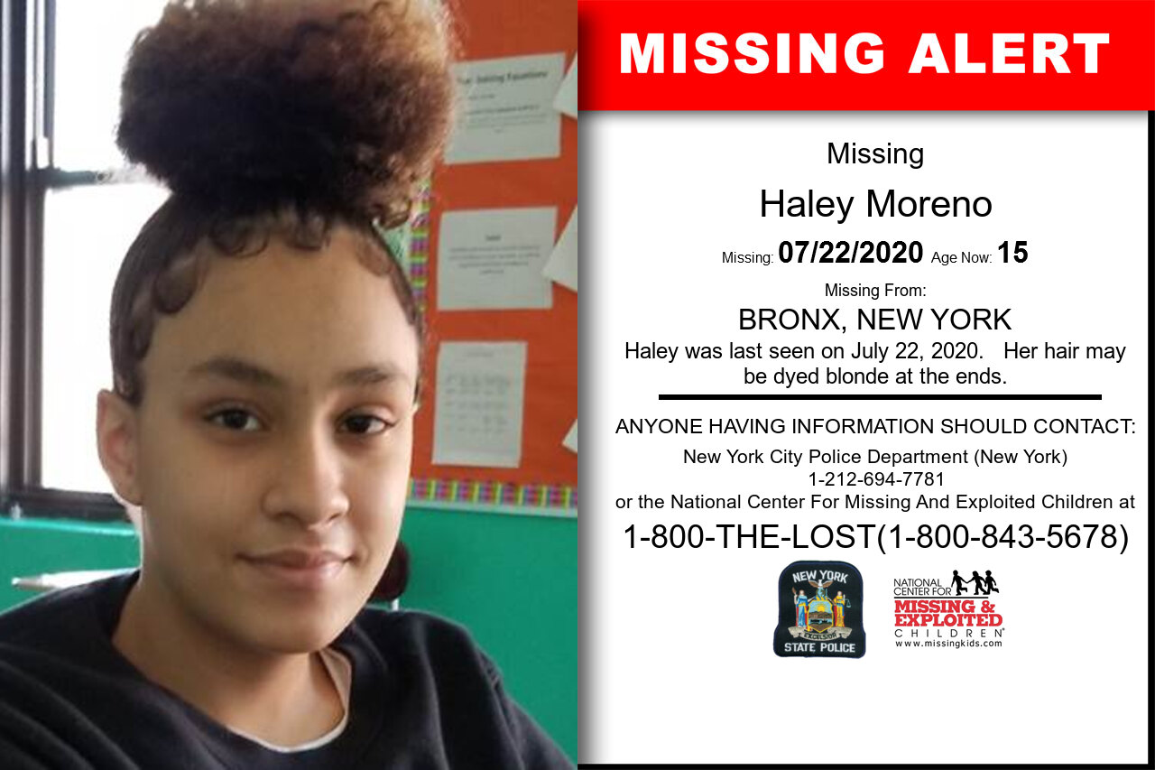 Haley_Moreno missing in New_York