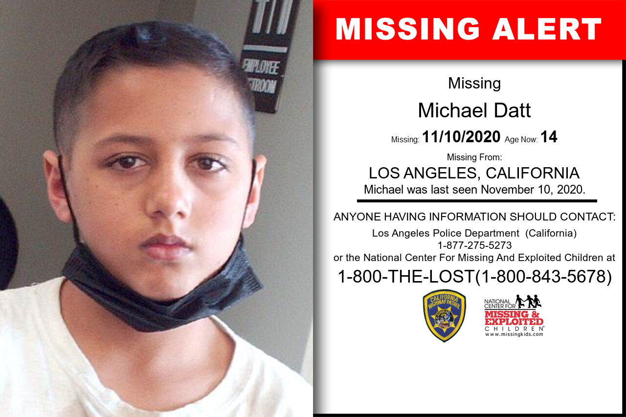 Michael_Datt missing in California