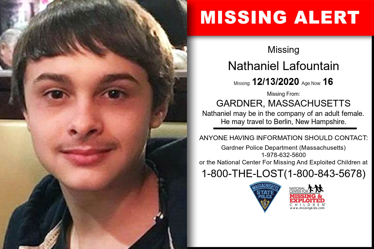 Nathaniel_Lafountain missing in Massachusetts