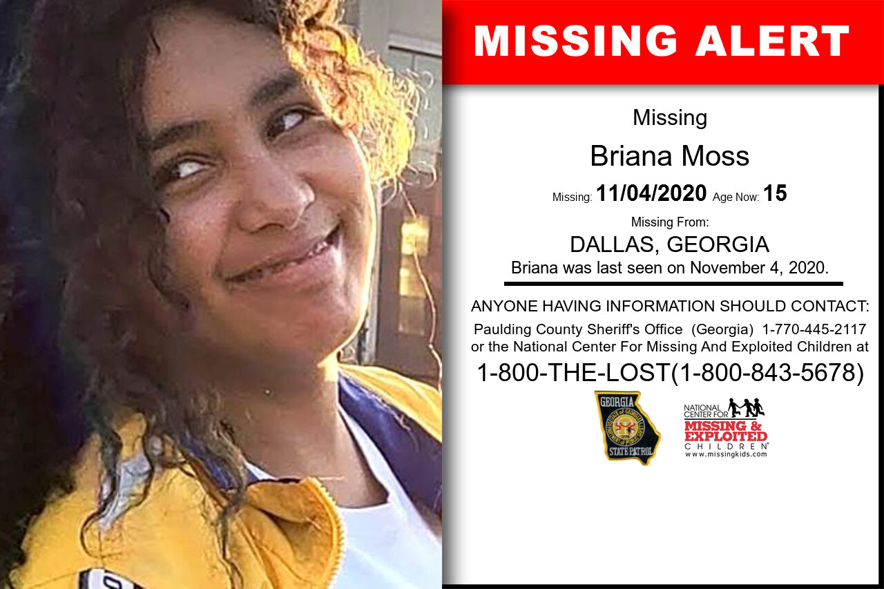 Briana_Moss missing in Georgia