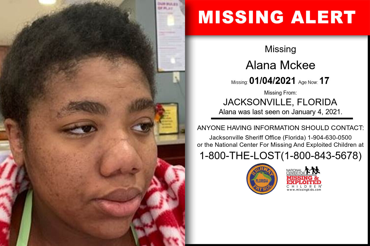 Alana_Mckee missing in Florida
