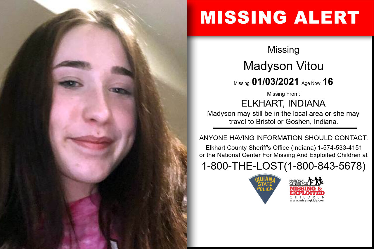 Madyson_Vitou missing in Indiana