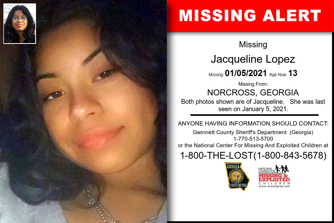 Jacqueline_Lopez missing in Georgia