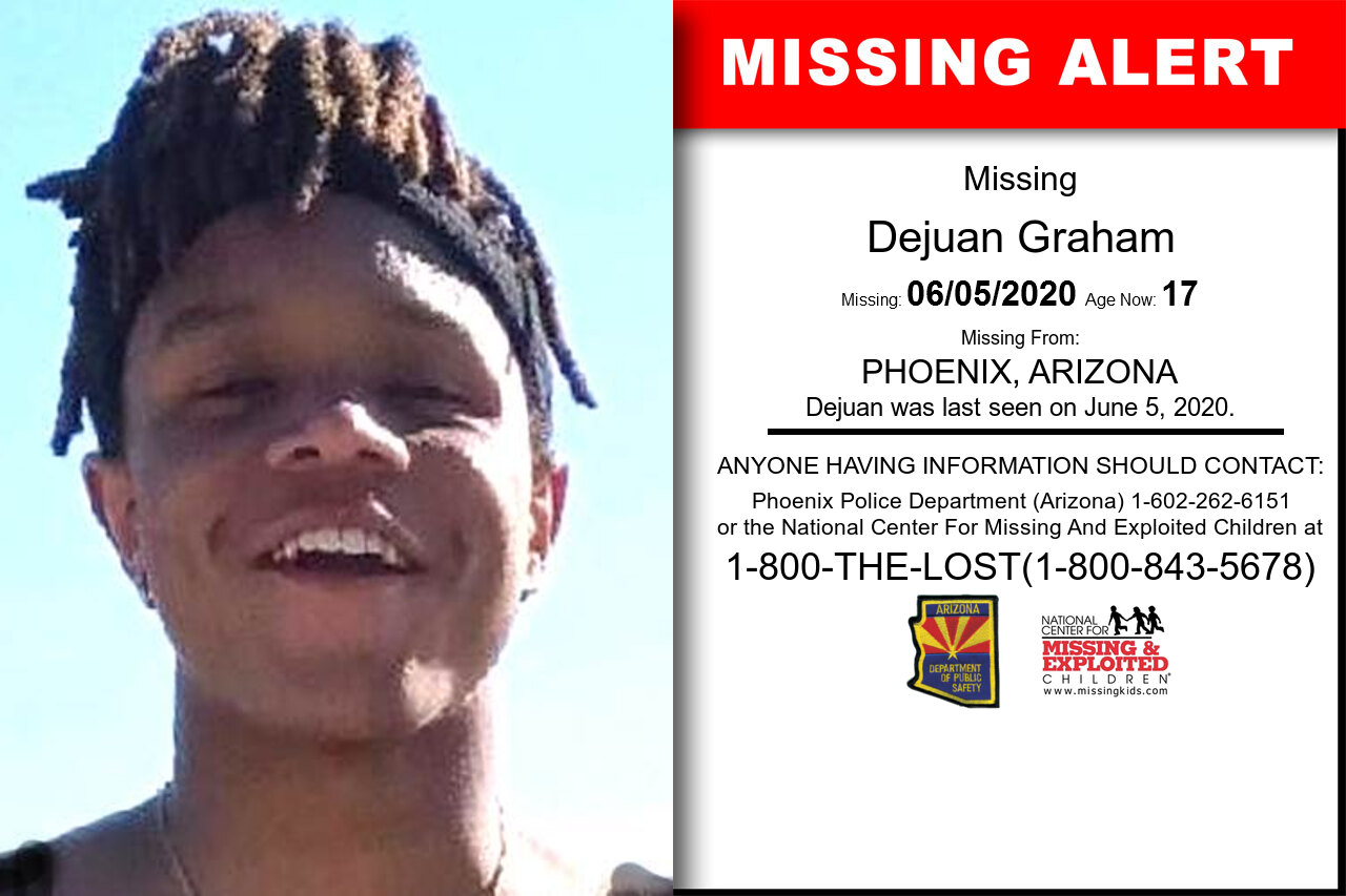 Dejuan_Graham missing in Arizona