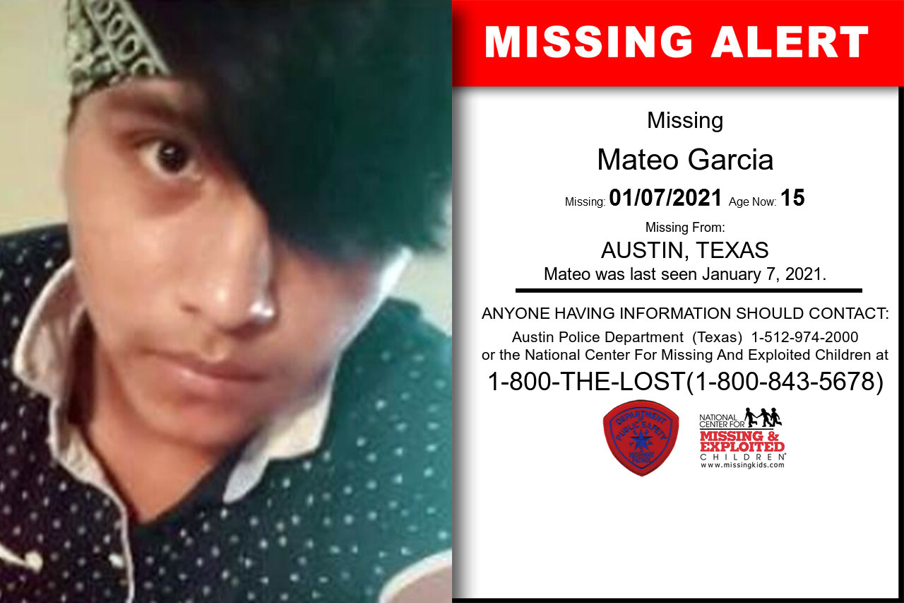 Mateo_Garcia missing in Texas