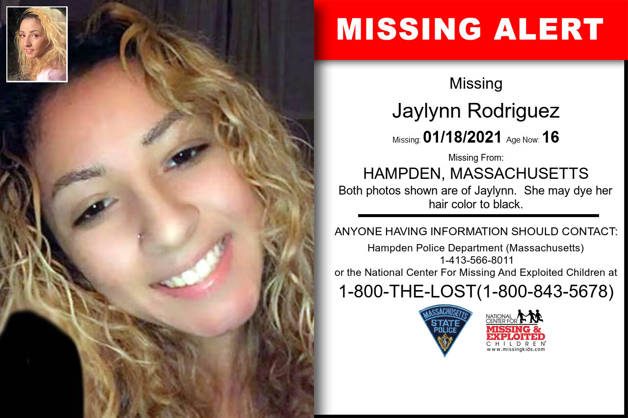 Jaylynn_Rodriguez missing in Massachusetts