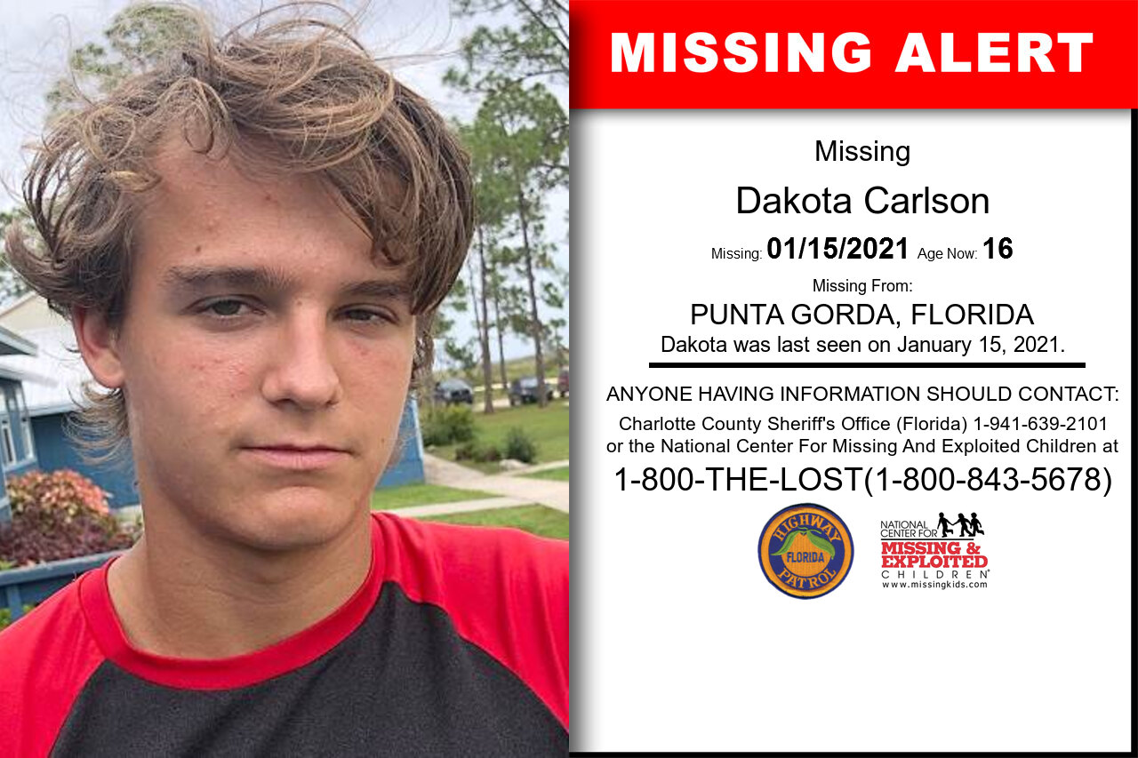 Dakota_Carlson missing in Florida