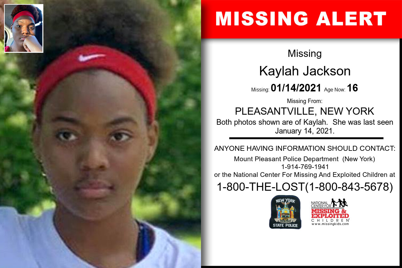 Kaylah_Jackson missing in New_York