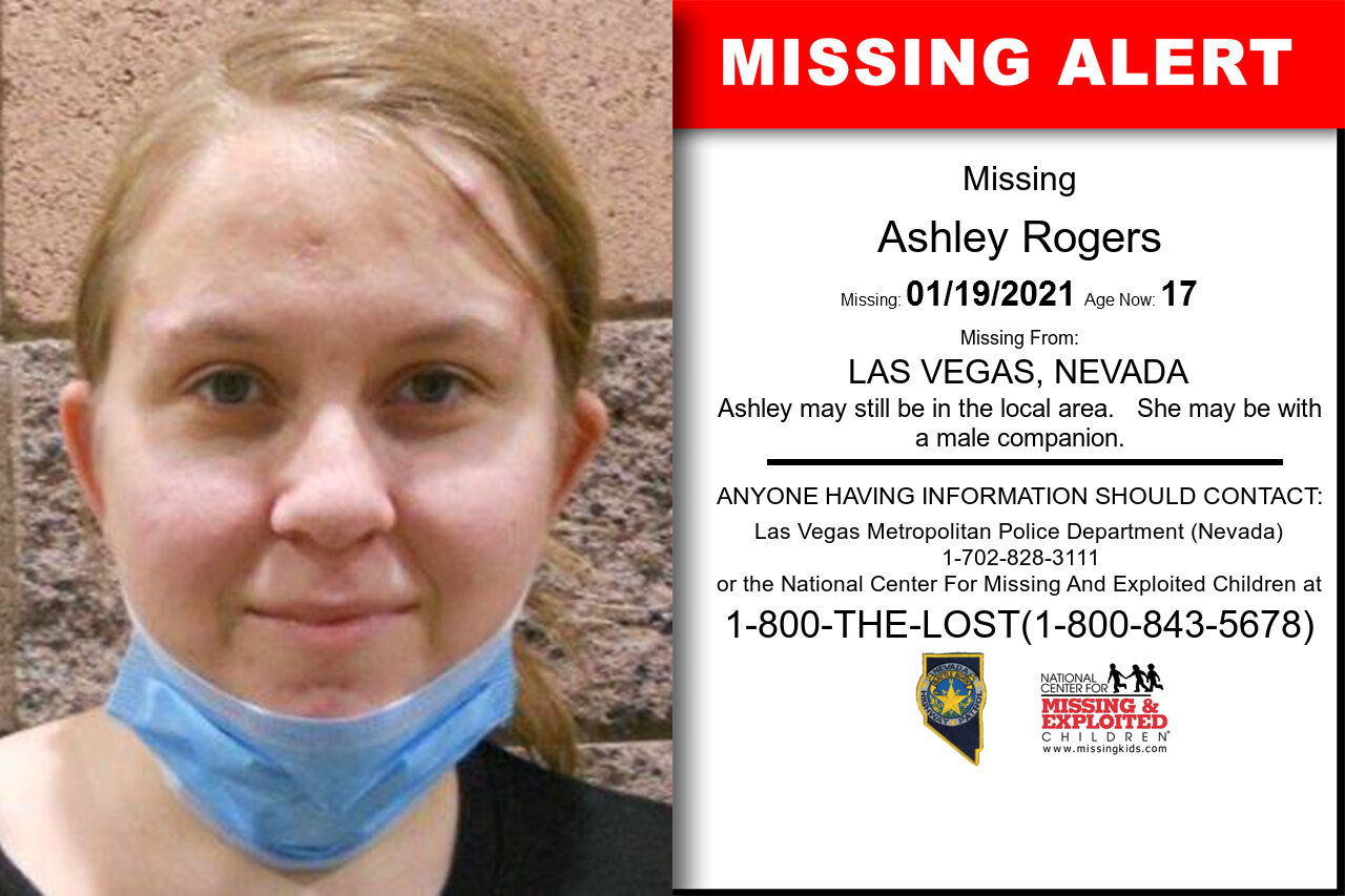Ashley_Rogers missing in Nevada
