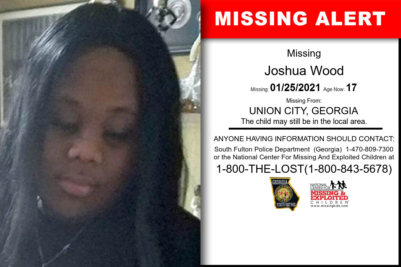Joshua_Wood missing in Georgia