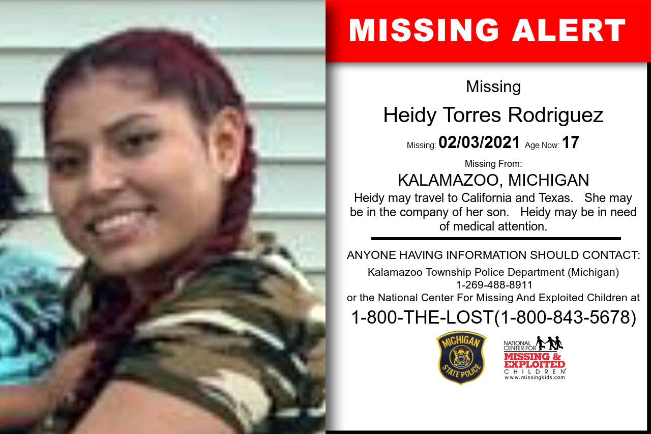Heidy_Torres_Rodriguez missing in Michigan