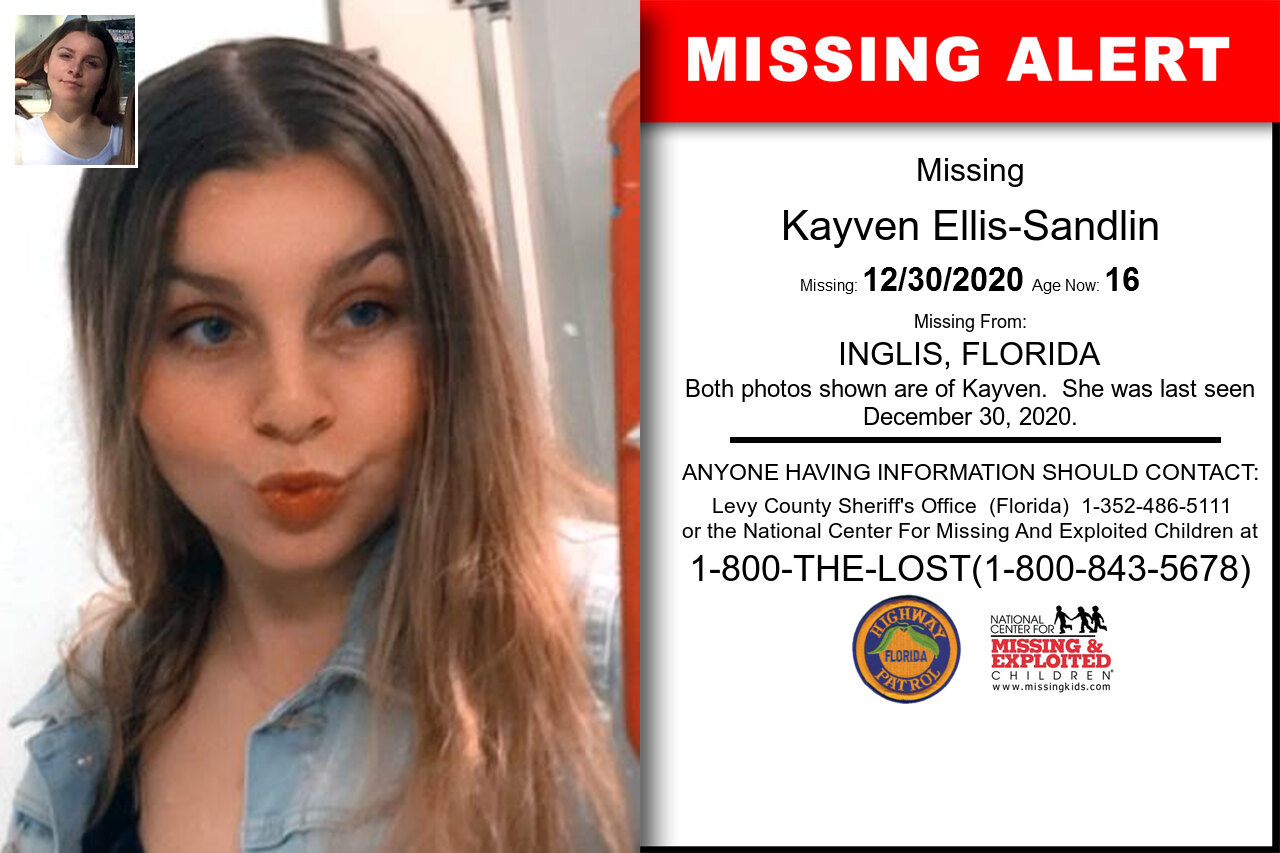 Kayven_Ellis-Sandlin missing in Florida