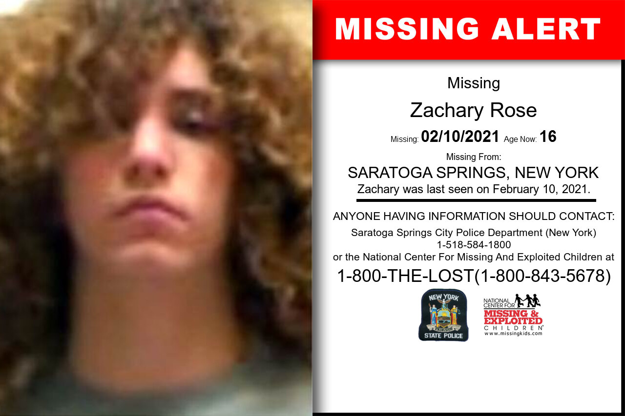Zachary_Rose missing in New_York