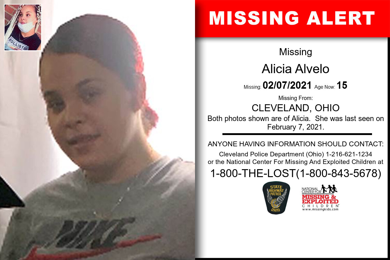 Alicia_Alvelo missing in Ohio