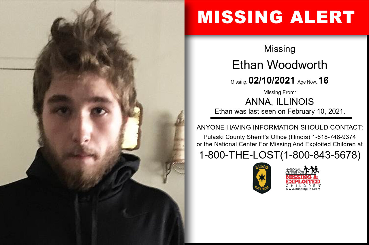 Ethan_Woodworth missing in Illinois