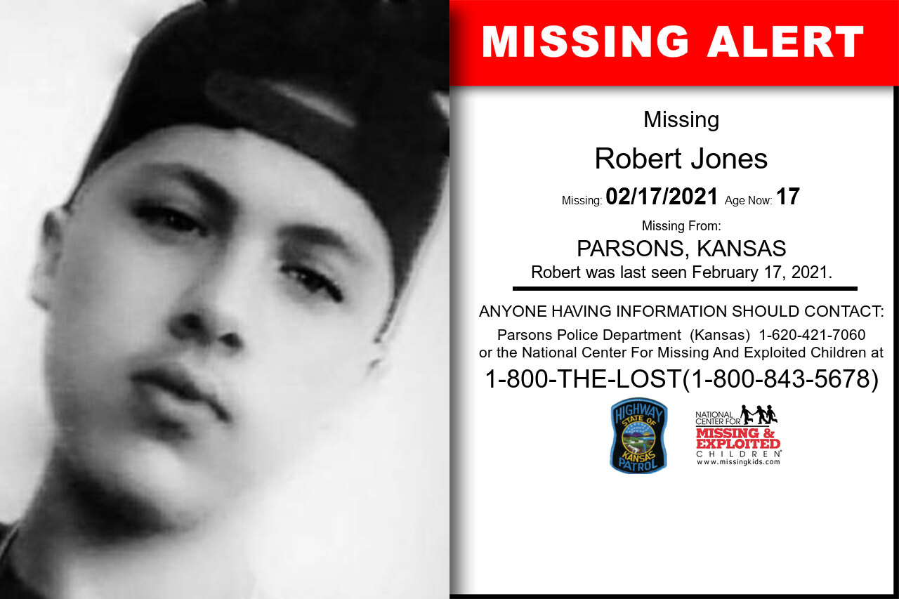 Robert_Jones missing in Kansas