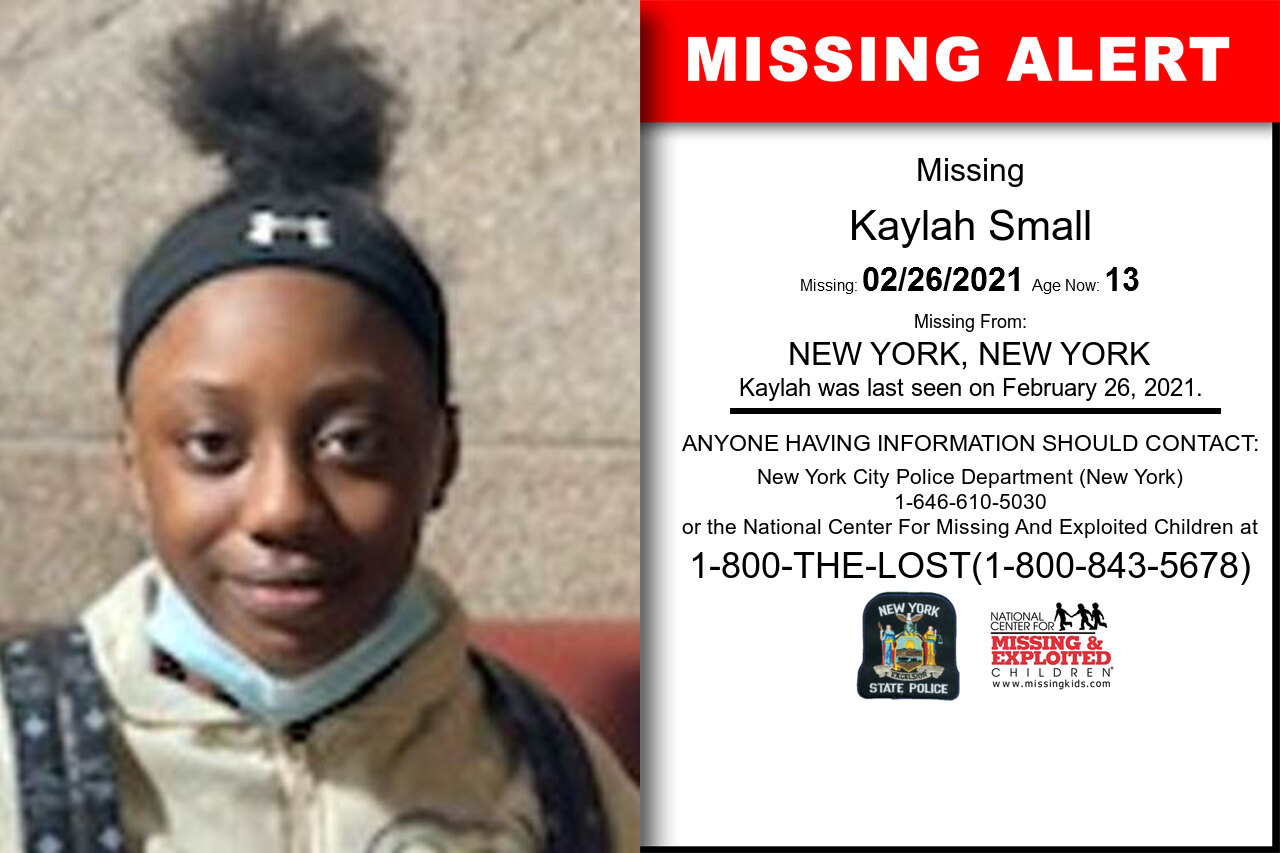 Kaylah_Small missing in New_York