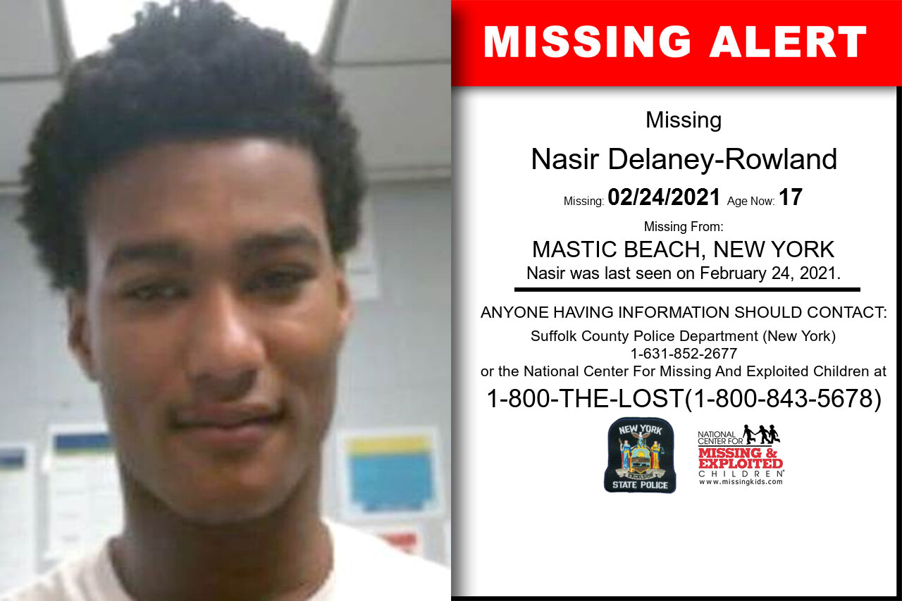Nasir_Delaney-Rowland missing in New_York