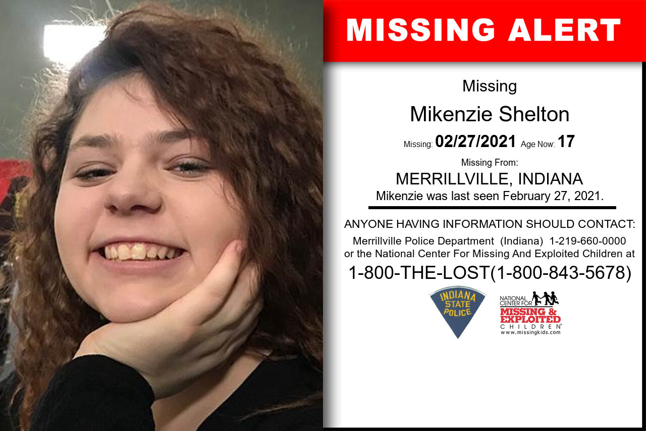 Mikenzie_Shelton missing in Indiana