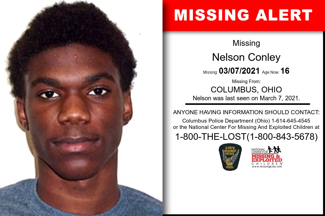 Nelson_Conley missing in Ohio
