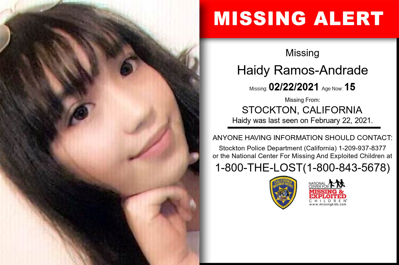 Haidy_Ramos-Andrade missing in California